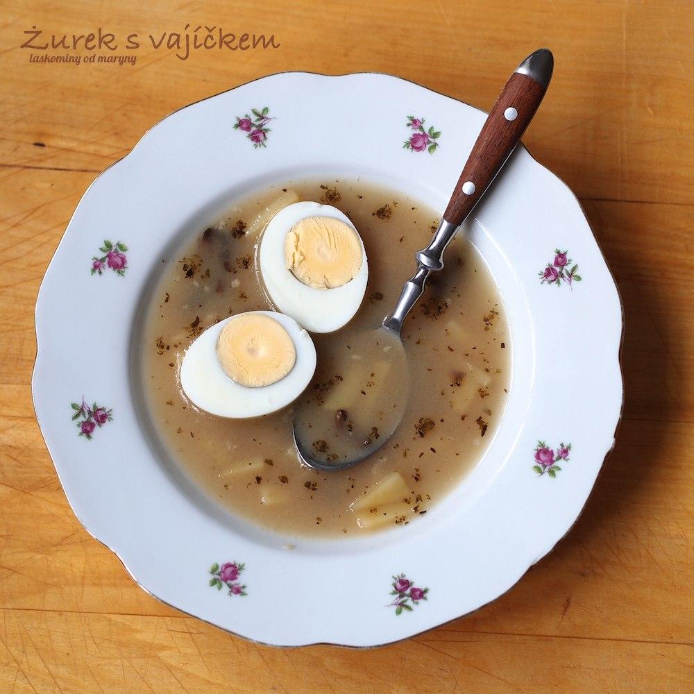 Żurek – polévka z žitného kvásku